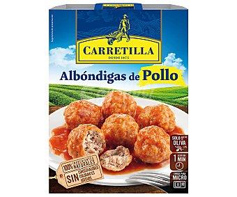 Carretilla Albóndigas de pollo Carretilla 300 g
