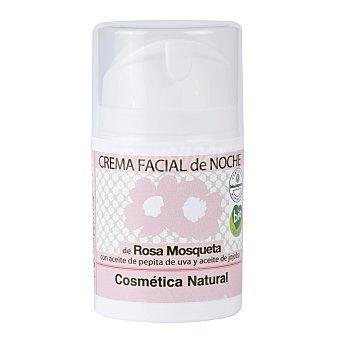 Equimercado Crema facial de noche de Rosa Mosqueta ecológica 50 ml