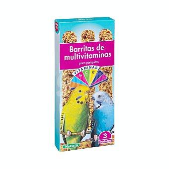 +Natura Comida periquito barrita multivitamina Caja 3 u