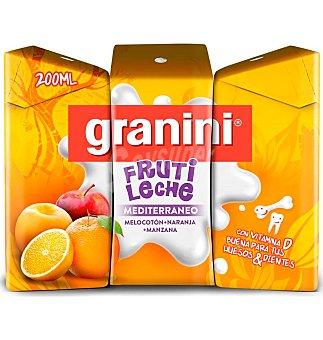 Granini Fruti leche medit Pack 3 uni