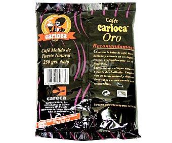 CARIOCA Oro Café Molido Natural 250 Gramos
