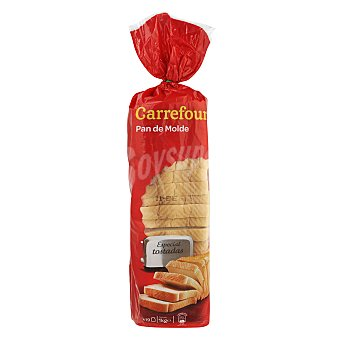 Carrefour Pan de molde especial tostada 1 kg