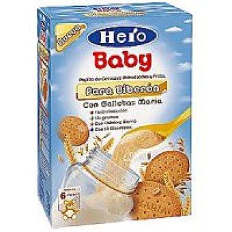 Hero Baby Papilla para biberón con galleta Natur Balance