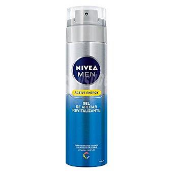 Nivea For Men Gel de Afeitar Active Energy Revitalizante 200 ml