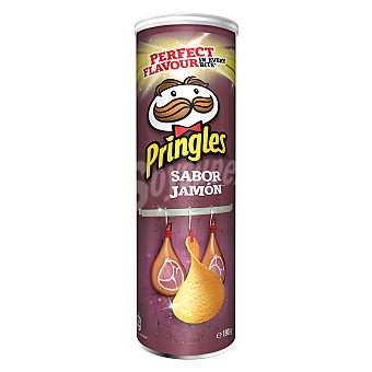 Pringles Patatas sabor jamón Envase 190 g