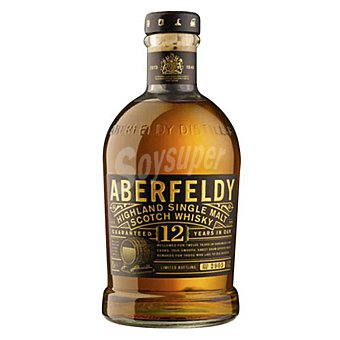 Dewar's Aberfeldy Whisky escocés de malta 12 años Botella 70 cl