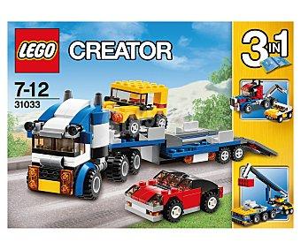 LEGO Juego de construcciónes Crator, Transporte de vehículo, modelo 31033 1 unidad