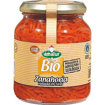 AMALUR Zanahoria rallada de agricultura ecologica frasco 190 g neto escurrido