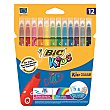 Rotulador Color Kid Couleur 12 ud Bic