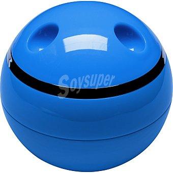 QUO Caja organizadora con tapa en color azul