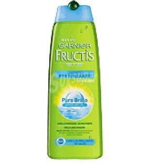 Fructis Garnier Champú pure brillo Fructis 1 bote de 300 ml