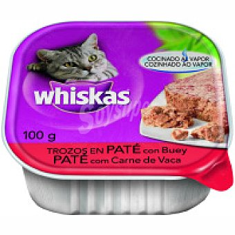 Whiskas Buey-corazón Tarrina 100 g