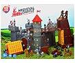 Escenario de juego Gran Castillo Medieval con 99 piezas alcampo  ONE TWO FUN ALCAMPO