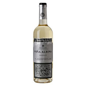 Viña Albina Vino blanco semidulce D.O. Rioja Botella 75 cl