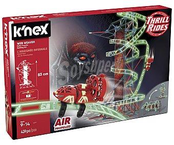 K'NEX Web Weaver Set de construcción Web Weaver con 399 piezas fluorescentes, K'NEX.