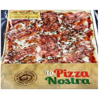 La pizza nostra Pizza Jamón y Bacon 620 g