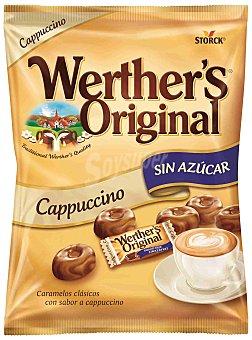Werther's Original Caramelos clásicos de crema café sin azúcar Bolsa 90 g
