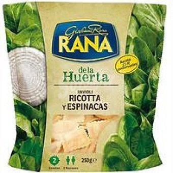 Rana Ravioli Ricotta de espinaca granfinezza Bolsa 250 g