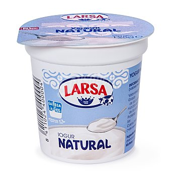 Larsa Yogur natural sin azucarar 125 g