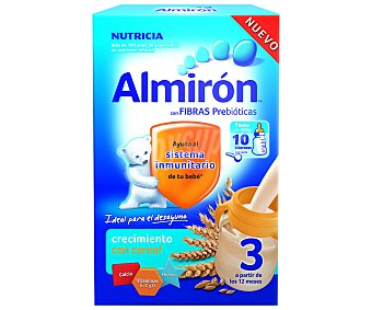 Almirón Nutricia Leche de continuación con cereales para niños a partir de 12 meses 400 gramos