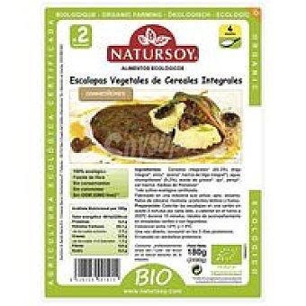 Natursoy Escalopes vegetales de cereal-champiñón Paquete 180 g