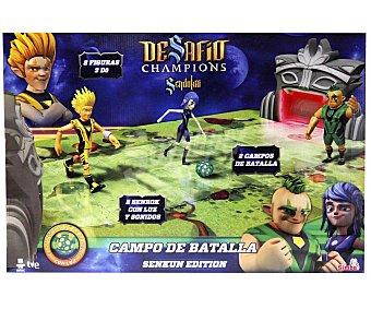 SIMBA Campo de Batalla de Desafio Champions, Edición Senkun, Incluye 2 Campos de Batalla y 3 Dö con Luz y Sonido 1 Unidad