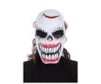 LLOPIS Máscara terrorífica Halloween, Diablo con dientes 1 unidad