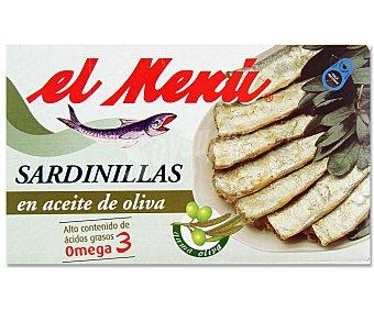 El Menu Sardinillas en Aceite de Oliva 65 Gramos