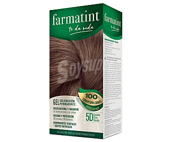Farmatint Tinte de color castaño claro dorado nº 5D color duradero y brillante en un cabello sano Caja 1 ud