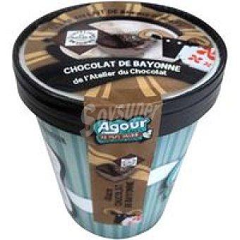 AGOUR Helado de chocolate du chocolat Tarrina 550 ml