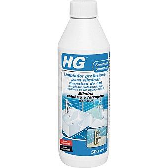 HG Limpiador profesional para manchas de cal agua y óxido botella 500 ml