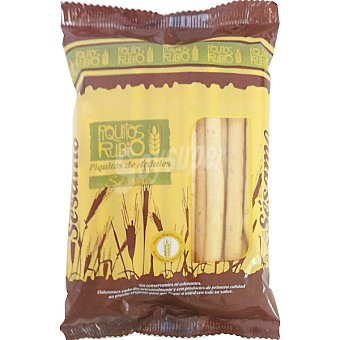 Rubio Piquitos de pan con aceite y sésamo Bolsa 150 g