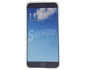 Qilive Set de carcasa trasera y protector de pantalla de cristal templado, compatible con smartphone Apple iphone 6/6S. (teléfono no incluido) 6 carcasa+protect