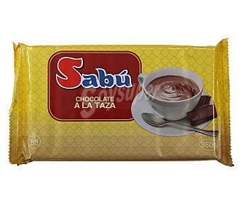 Sabu Chocolate a la taza familiar SABÚ tableta 350 g. tableta 350 g