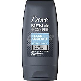 Dove gel de baño Clean Comfort For Men tamaño viaje Frasco 55 ml