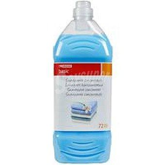 Eroski Basic Suavizante concentrado azul Garrafa 72 dosis