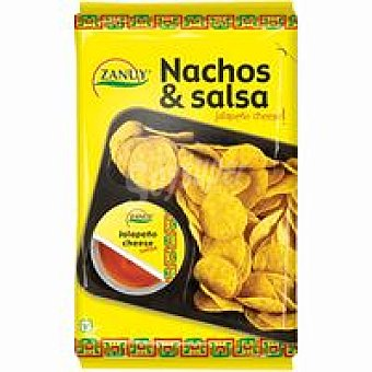 Zanuy Nachos-salsa 180 g