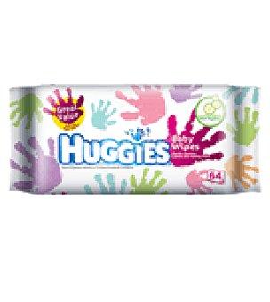 Huggies Toallitas manos 64 ud