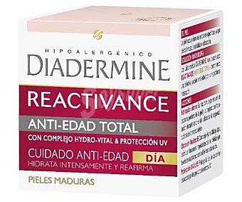 Diadermine Crema de día antiedad para pieles maduras (hidrata y reafirma intensamente la piel) 50 mililitros