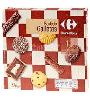 Carrefour Surtido galletas 13 variedades 250 g