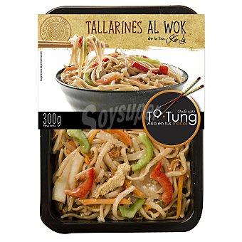 Ta Tung Tallarines al wok con pollo y curry rojo 350 g