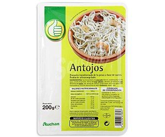 Productos Económicos Alcampo Antojos de aguinaga en surimi sabor a angula 200 gramos