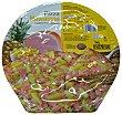 Pizza congelada hawaiana (jamón, piña) 390 g Hacendado