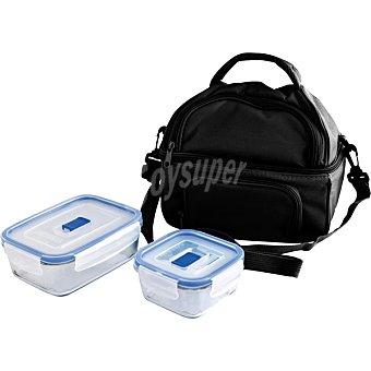 QUID Bolsa Para transporte de alimentos en color negro