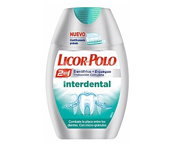 Licor del polo Dentífrico 2en1 interdental Tubo 75 ml