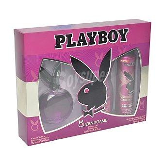 Playboy Fragrances Estuche Queen of the Game (colonia 90 ml. + gel ducha 250 ml. + desodorante 150 ml.) 1 ud
