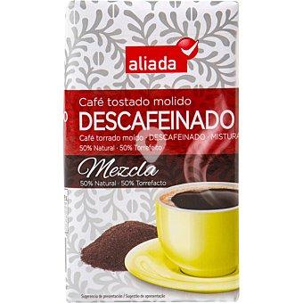 Café descafeinado molido mezcla