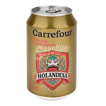 Carrefour Cerveza holandesa rubia 33 cl