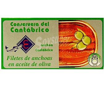 Conservera del cantabrico Filetes de anchoa en aceite de oliva 47 gramos