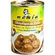 Albóndigas de pollo con setas Lata 400 g Mamía